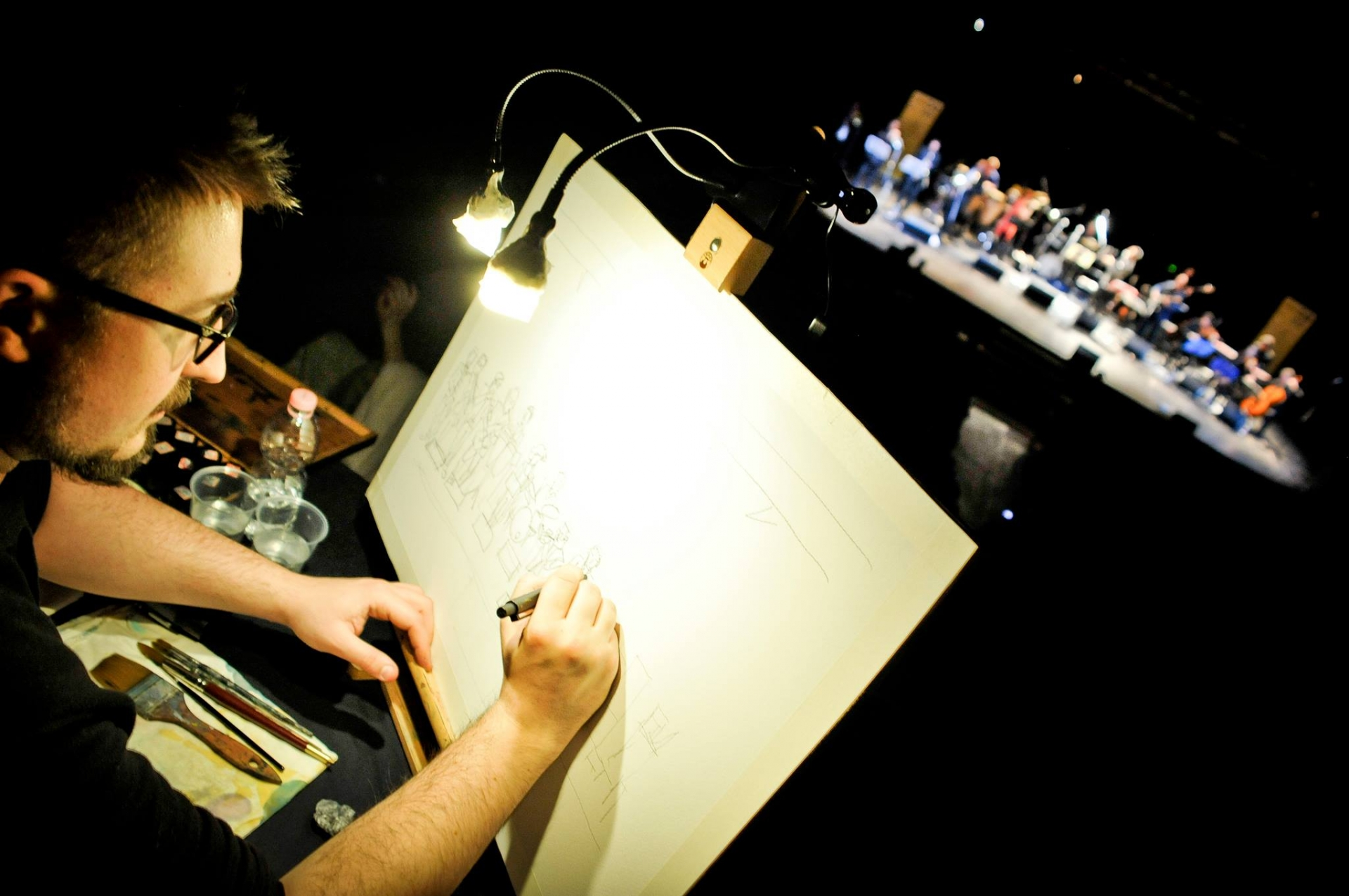 Andrea Spinelli: professione Live Painter