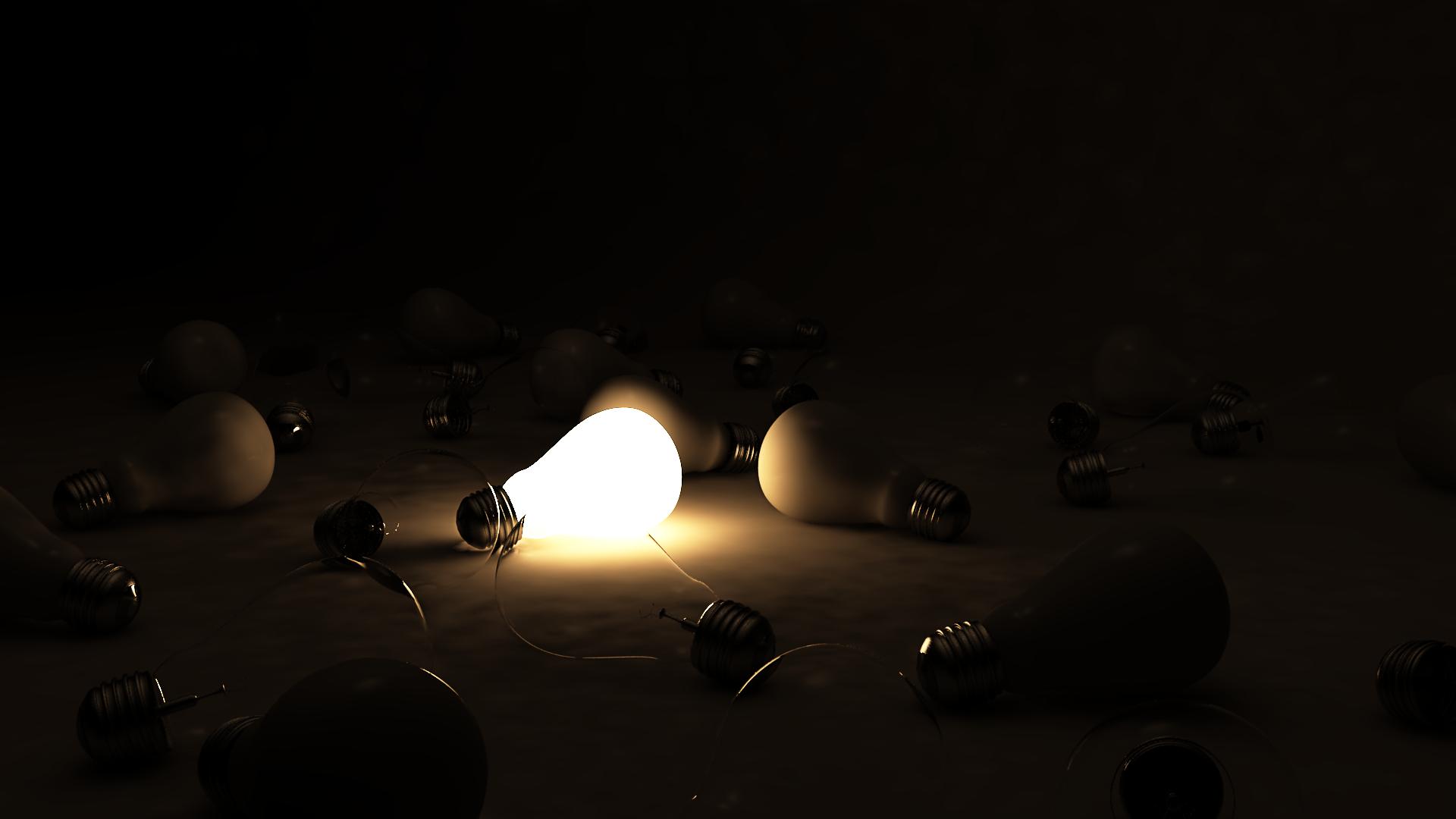 Creazioni in oscurità